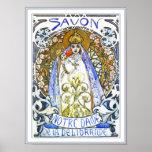 Mucha Poster Prints:  Savon Notre-Dame