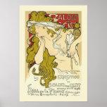 Mucha Poster: Salon des Cent