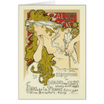 Mucha - Salon des Cent Card