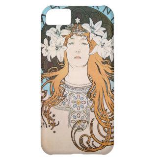 Mucha Sarah Bernhardt Vintage Art Nouveau iPhone 5C Case