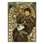 Mucha - Theater - Lorenzaccio - Art Nouveau Cards