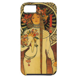 Mucha Trappistine Art Nouveau i Phone 5 Case