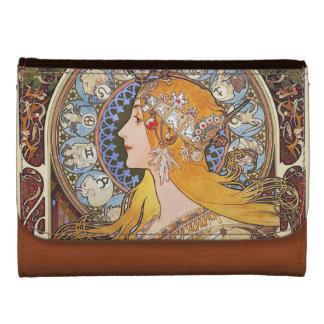 Mucha - Vintage Art Nouveau Zodiac Wallets