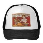 Mucha ~ Waverley Cycles 1898 Hat