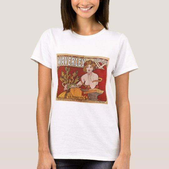 Mucha ~ Waverley Cycles 1898 T-Shirt