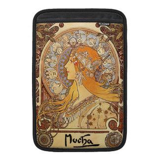 Mucha Zodiac Art Deco MacBook Air sleeve