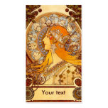 Mucha Zodiac Double-Sided Standard Business Cards (Pack Of 100)