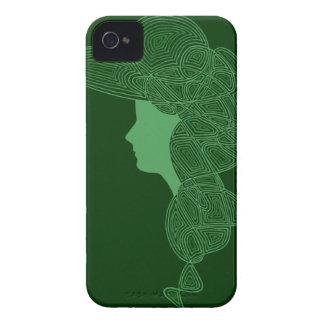 Muchacha irlandesa Case-Mate iPhone 4 carcasa