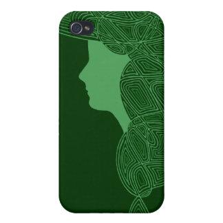 Muchacha irlandesa iPhone 4/4S carcasas