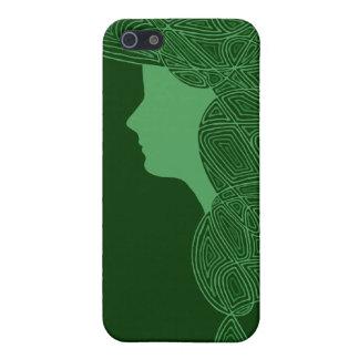Muchacha irlandesa iPhone 5 carcasas
