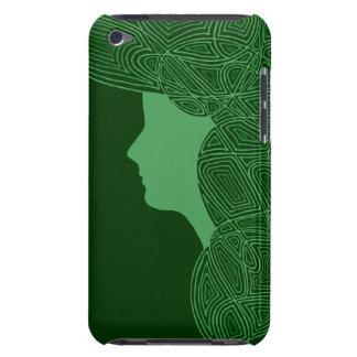 Muchacha irlandesa iPod Case-Mate cárcasas