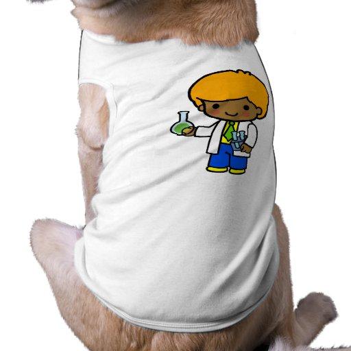 Muchacho 1 del científico camisas de mascota