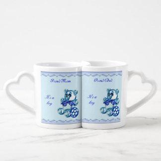 Muchacho #1 set de tazas de café