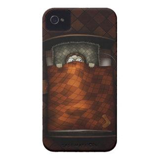 Muchacho asustadizo fresco abstracto de la hora de iPhone 4 Case-Mate carcasas
