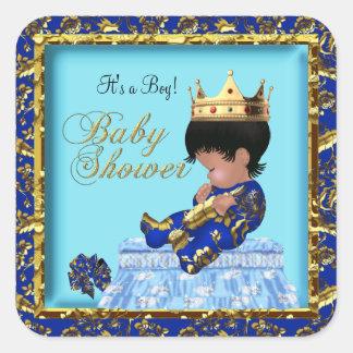 Muchacho azul del oro del príncipe fiesta de