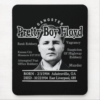 Muchacho bonito Floyd del gángster Alfombrilla De Ratones