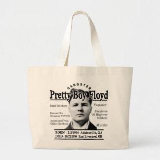 Muchacho bonito Floyd del gángster Bolsa Tela Grande