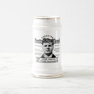 Muchacho bonito Floyd del gángster Jarra De Cerveza