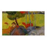 Muchacho bretón de Paul Gauguin- en un paisaje con Tarjetas De Visita