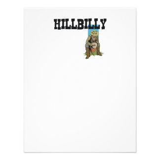 Muchacho/chica del Hillbilly de la CAMISETA Invitacion Personalizada