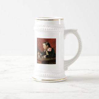 Muchacho con una ardilla, por John Singleton Cople Tazas De Café