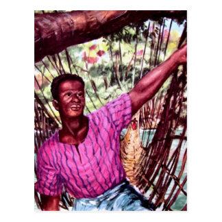 Muchacho congolés tarjetas postales