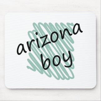 Muchacho de Arizona en el dibujo del mapa de Arizo Tapete De Raton