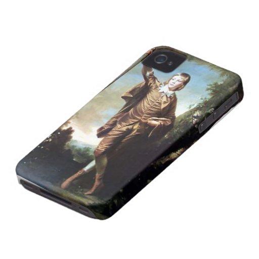 Muchacho de Brown de Joshua Reynolds iPhone 4 Case-Mate Carcasa