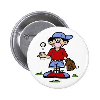Muchacho de Bubblegum Pin Redondo 5 Cm