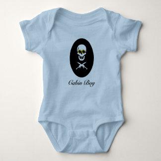 Muchacho de cabina del bebé body para bebé