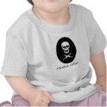 Muchacho de cabina del bebé camiseta