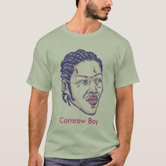 Muchacho de Cornrow Playera