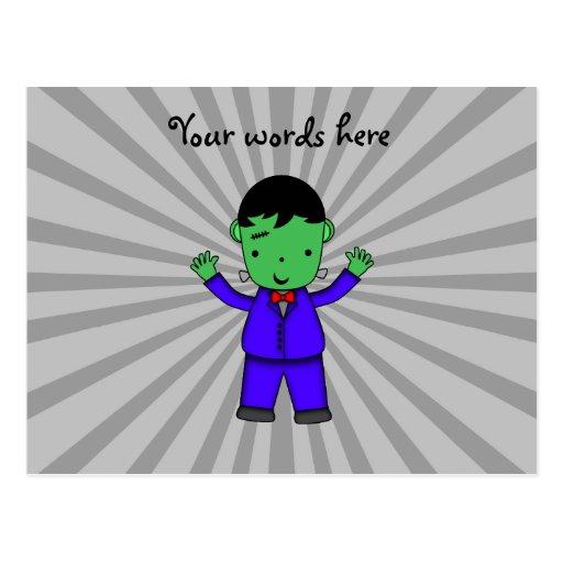 Muchacho de Frankenstein Postal