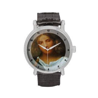 Muchacho de Giorgione- con la flauta Relojes