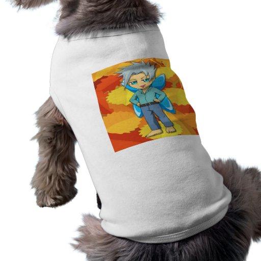 Muchacho de hadas camisa de perro