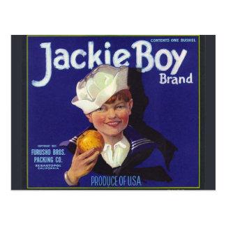 Muchacho de Jackie Postales