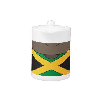 Muchacho de Jamaica de la amapola