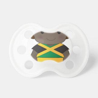 Muchacho de Jamaica de la amapola Chupetes