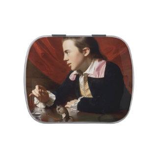 Muchacho de Juan Copley- con la ardilla (Henry Pel Latas De Caramelos