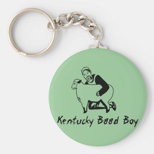 Muchacho de Kentucky Baad Llavero