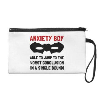 Muchacho de la ansiedad