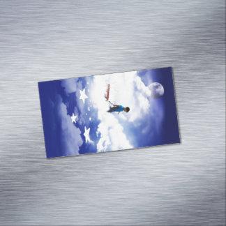 Muchacho de la estrella tarjetas de visita magnéticas (paquete de 25)