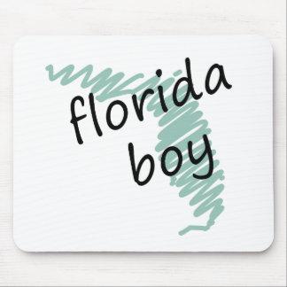 Muchacho de la Florida en el dibujo del mapa de la Alfombrilla De Ratones
