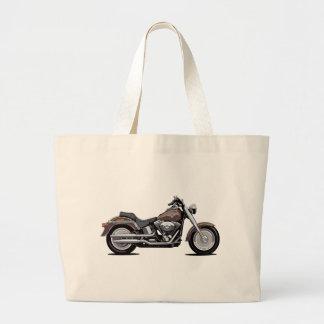 Muchacho de la grasa de Harley Davidson Bolsa Tela Grande