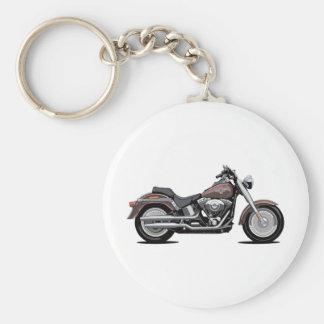 Muchacho de la grasa de Harley Davidson Llaveros Personalizados