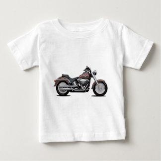 Muchacho de la grasa de Harley Davidson Playera De Bebé