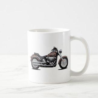 Muchacho de la grasa de Harley Davidson Tazas