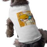 Muchacho de la hada del vuelo camisa de mascota