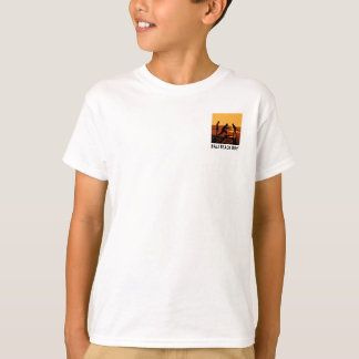 Muchacho de la playa de Bali - la camiseta del