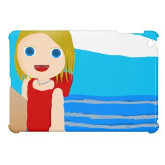 muchacho de la playa iPad mini carcasas